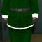 Santa Claus - Green