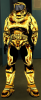 Halo - Master Chief Gold&Black
