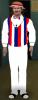 American Barbershop Singer - White Pants
