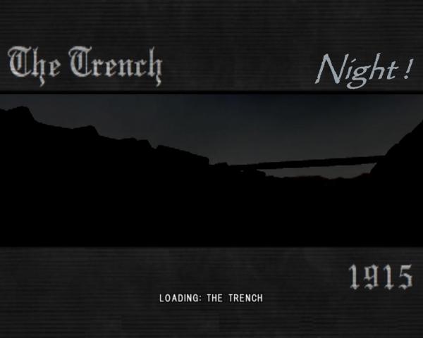 WW1 - Trench Variant Night (Bot) | MOHAA